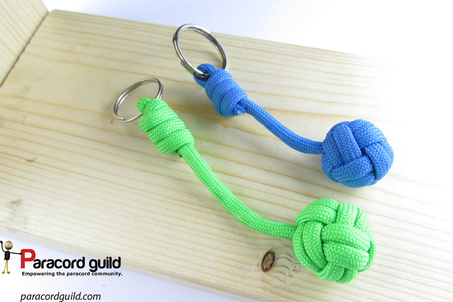 How to tie a paracord keychain paracord guild for Paracord keychain projects