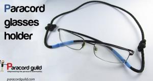paracord glasses holder