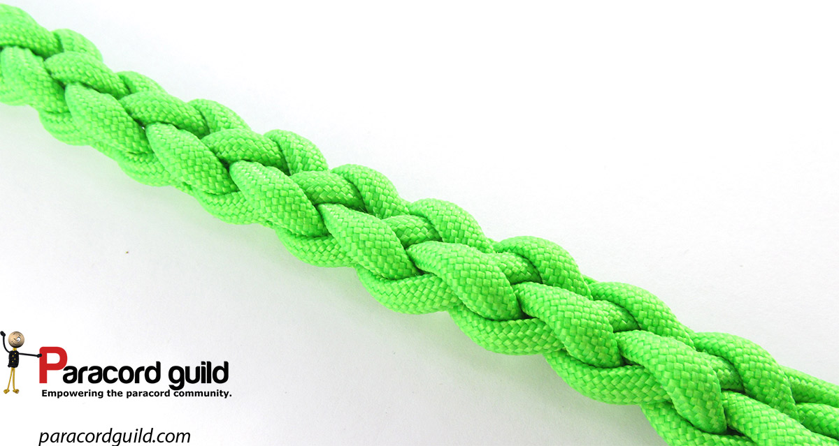 6 strand round braid tutorial - Paracord guild