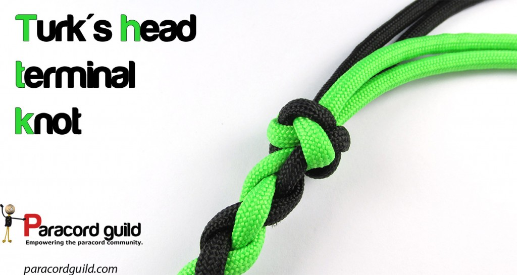 How to tie the turk's head terminal knot - Paracord guild