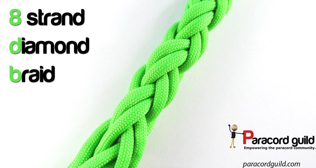 8 Strand Diamond Braid Paracord Guild