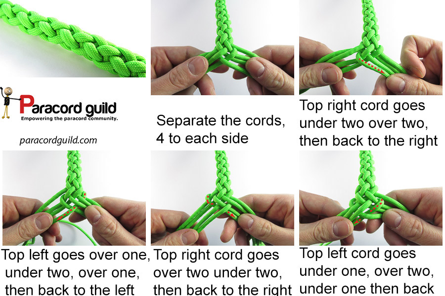 Gaucho braid - Paracord guild