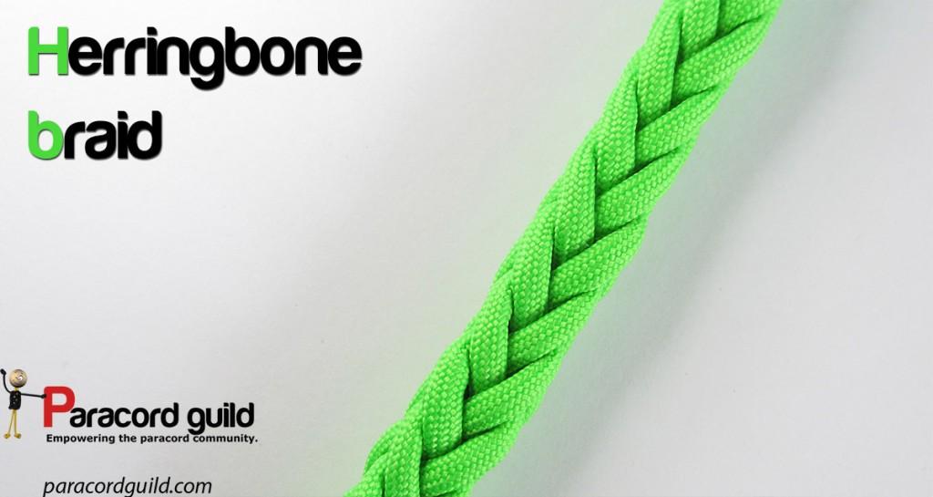 The herringbone braid - Paracord guild