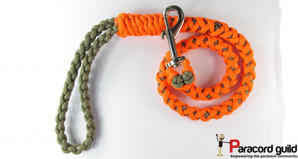 paracord dog lead