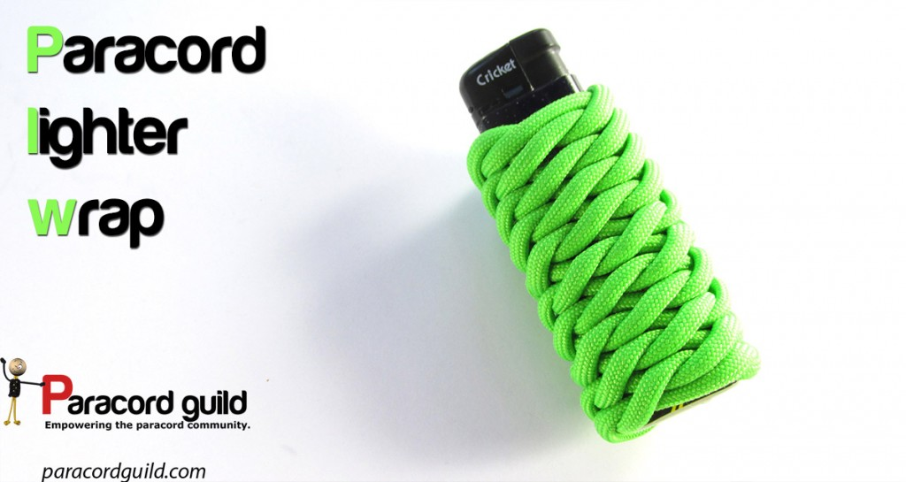 paracord lighter wrap the fish scale braid paracord guild