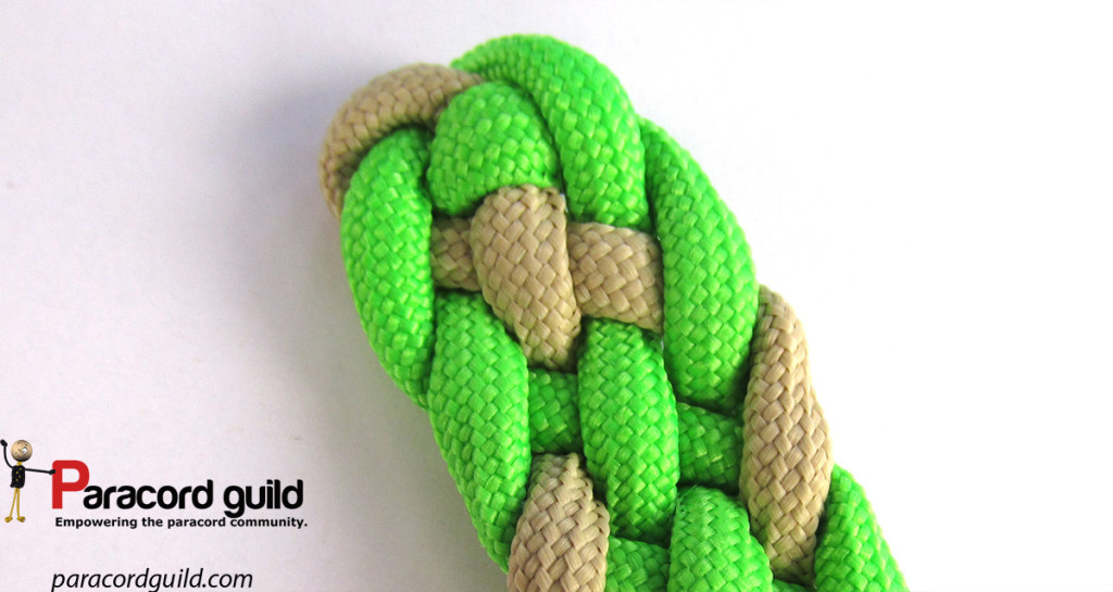 Starting Australian flat braids - Paracord guild