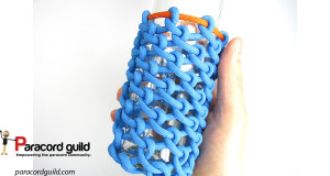 paracord-bottle-holde-half-hitched