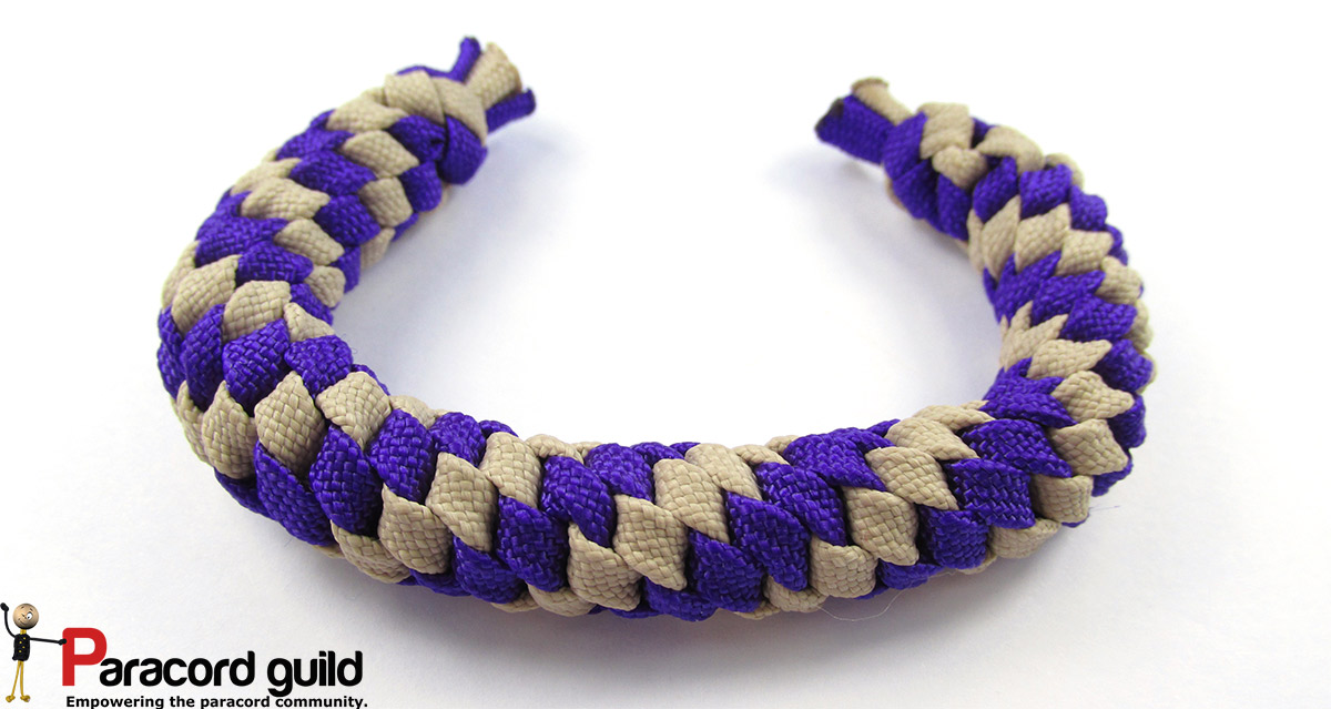 Paracord Bracelet Without Buckle