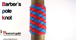 barber's pole knot