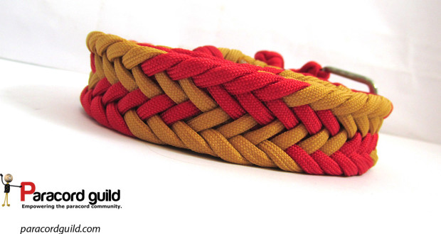 braided paracord belt