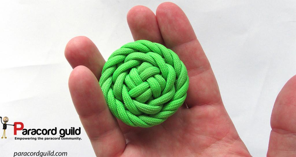 8 strand rose knot