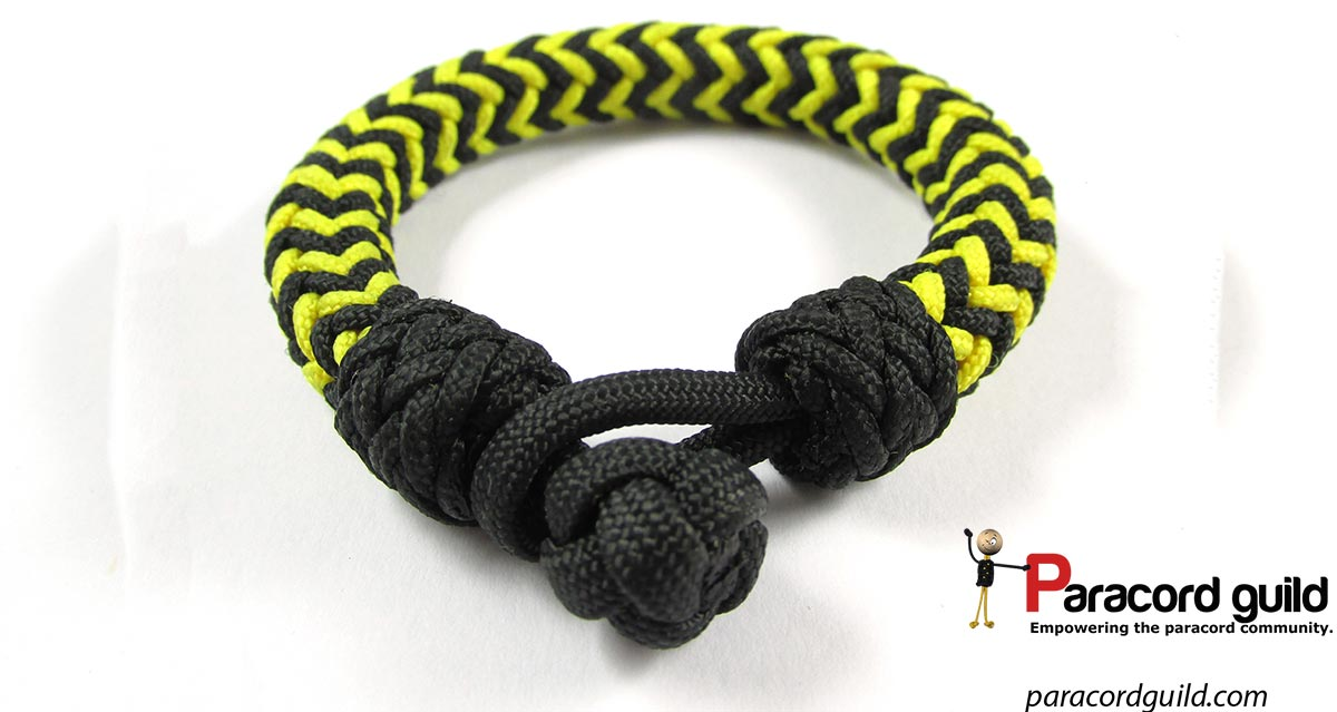 Herringbone Knot Bracelet Closure Paracord Guild
