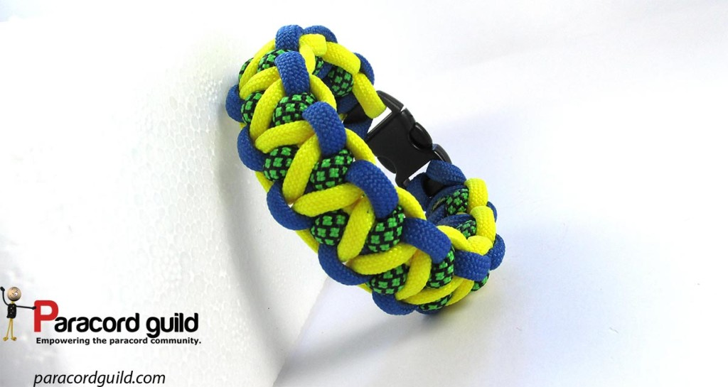 modified-caged-solomon-paracord-bracelet