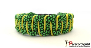 neon-green-diamonds-laced-paracord-bracelet
