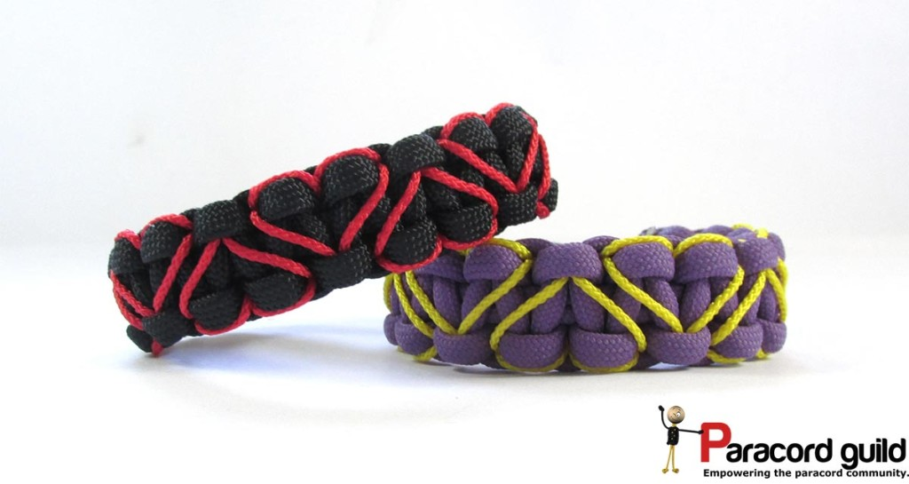 heart-stitched-paracord-bracelets