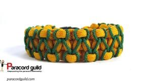herringbone stitched paracord bracelet