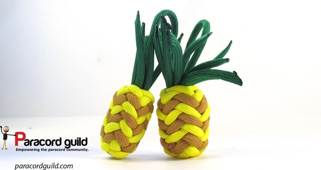 paracord-pineapples