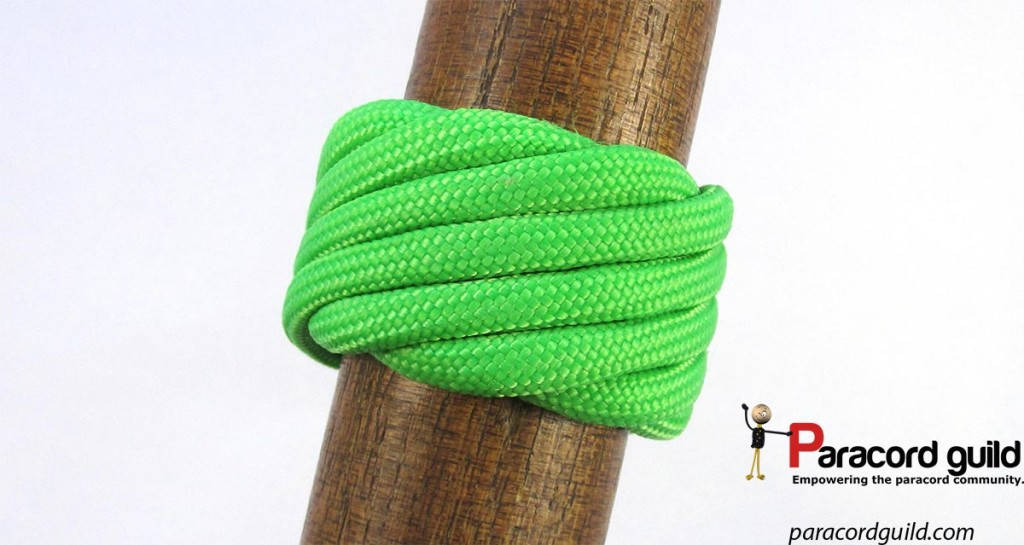 single-strand-matthew-walker-knot-green