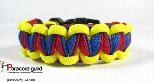 twisted cobra paracord bracelet