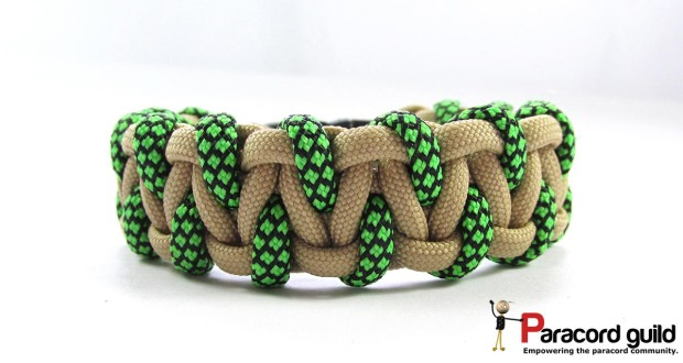 caged solomon paracord bracelet