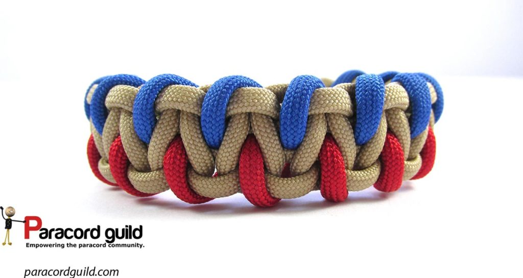 caged-solomon-bar-paracord-bracelet-red-blue
