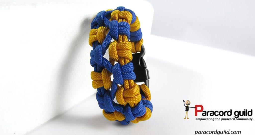 Completed bracelet.