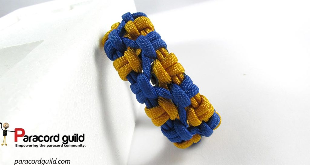 crossed-sennit-paracord-bracelet