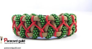 stitched caged solomon bracelet