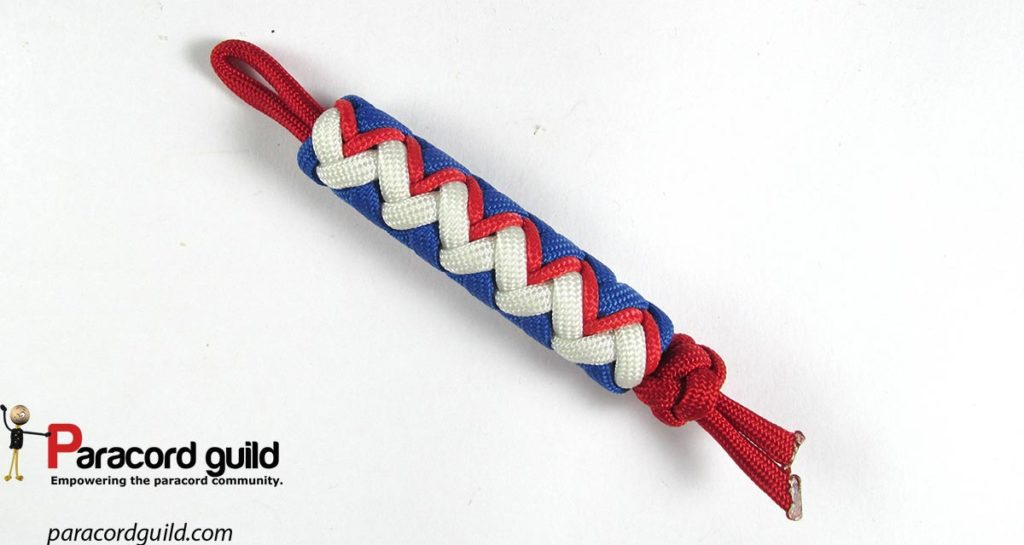 3-color-paracord-key-fob
