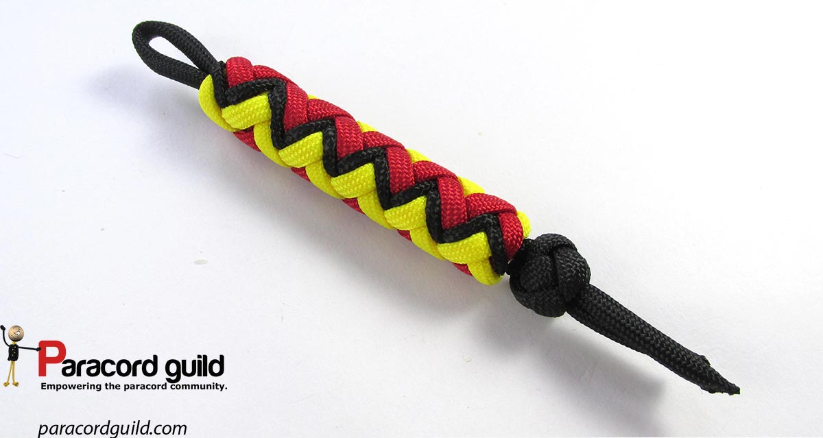 paracord lanyard knot instructions