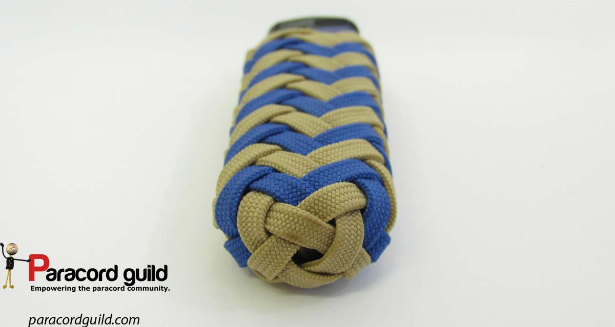 Paracord Lighter Wrap Pineapple Style Paracord Guild