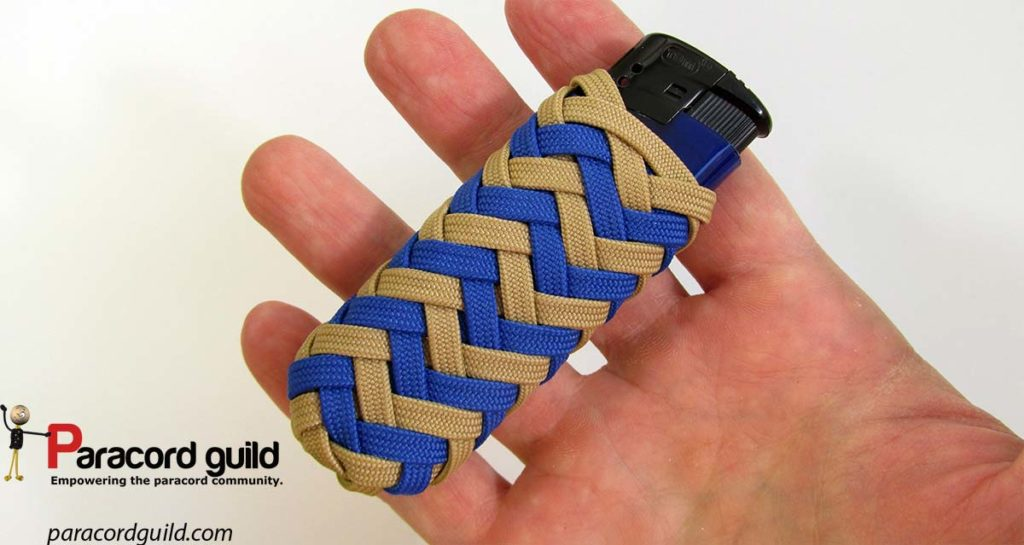 pineapple-knot-paracord-lighter-wrap-in-hand