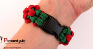 aztec-sun-bar--paracord-bracelet-closure
