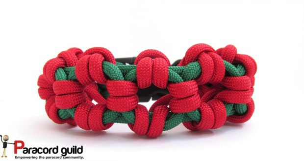 aztec sun bar paracord bracelet