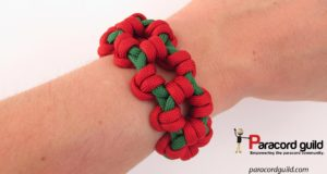aztec-sun-bar--paracord-bracelet-worn