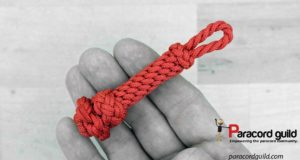 fancy-paracord-key-fob-red