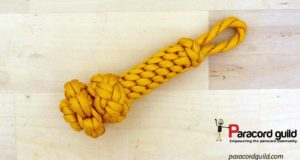 fancy-paracord-key-fob-yellow