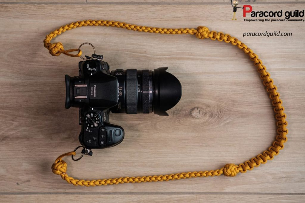 paracord-camera-neck-strap-yellow