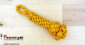 yellow-fancy-paracord-key-fob