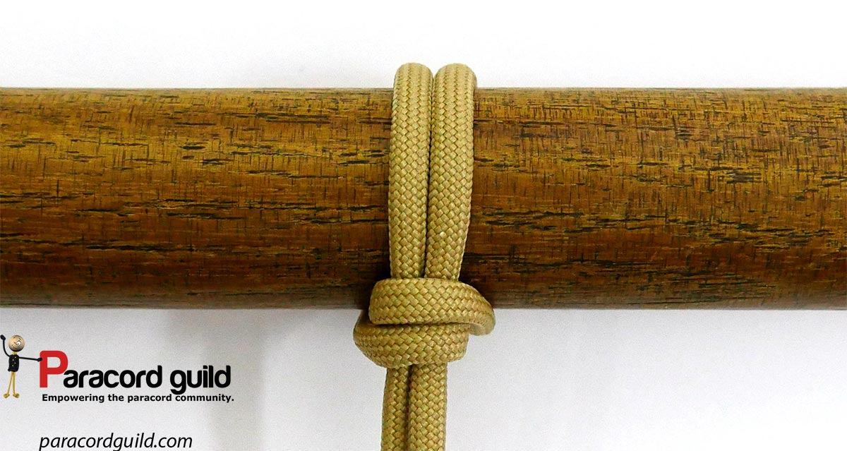 Cow Hitch Variant Piwich Knot Paracord Guild