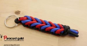 endless falls paracord key fob