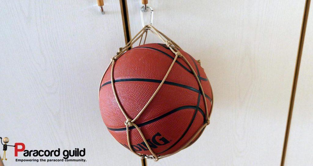 paracord basketball net