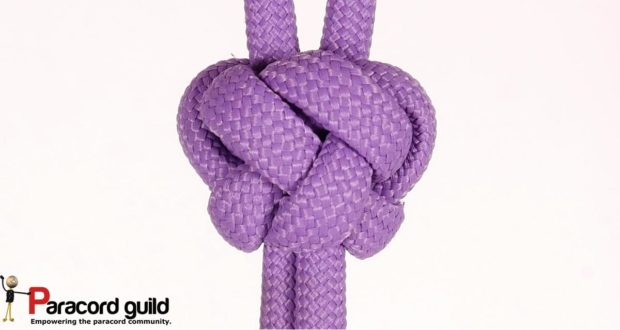 kings crown button knot
