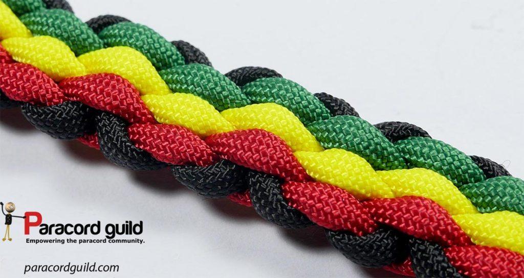 3 color bracelet weave