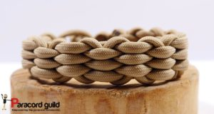 woven paracord bracelet single color