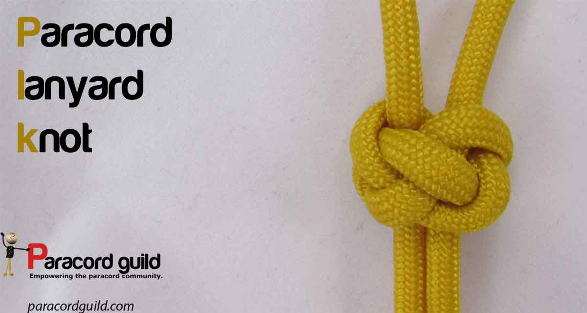 How To Make A Lanyard Knot Paracord Guild