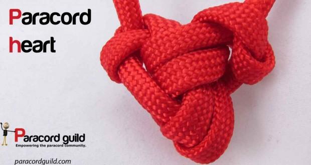 paracord heart