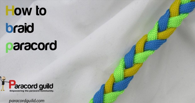 how to braid paracord