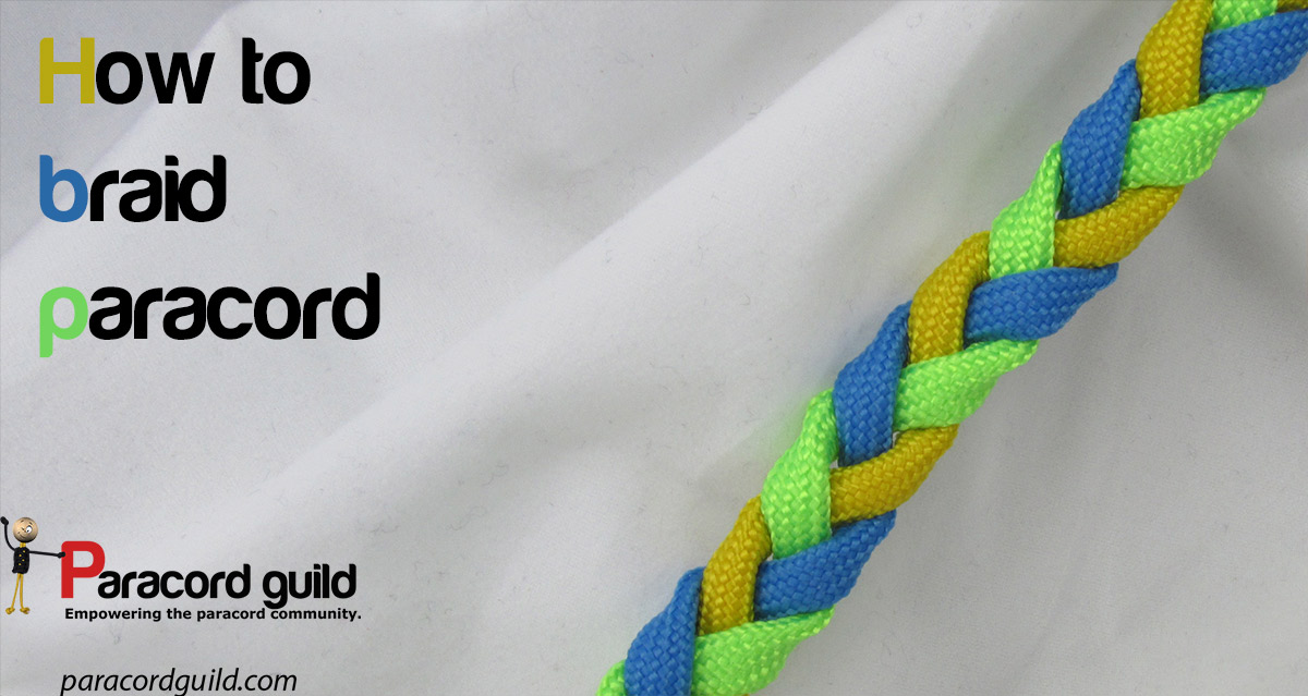 How To Braid Paracord Paracord Guild