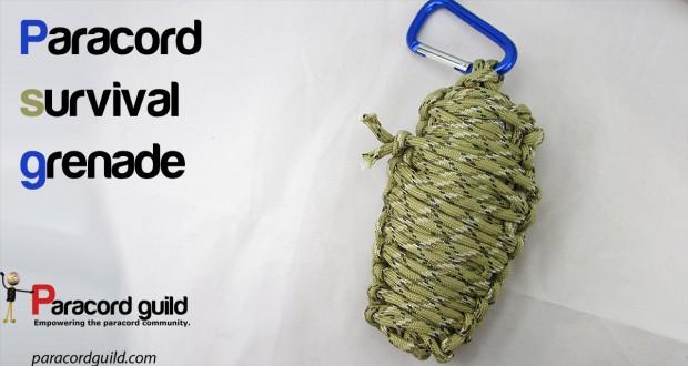 paracord survival grenade